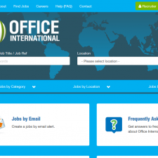 Office International Website, office, documentation, cv