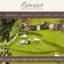 Retreat Hotel Nathiagali, resort and hotels, hotel website, NathiaGali, tourisiam, Summer Retreat, Green Retreat, Miranjan